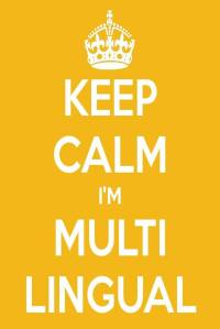 keep calm multilingual